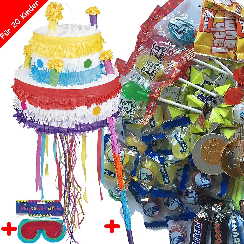 Pinata Geburtstagstorte im Set