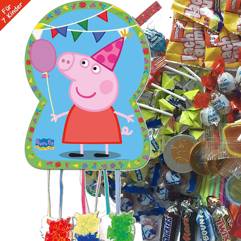 Pinata Peppa Pig im Set