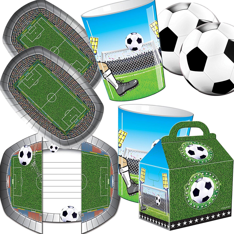 104-teiliges Set: Fußball Stadion