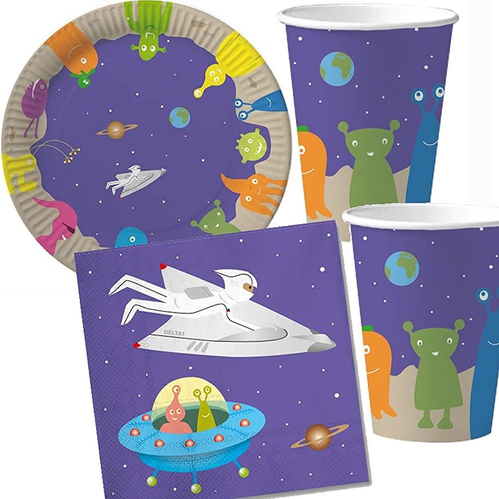 37-teiliges Spar-Set: Weltraum