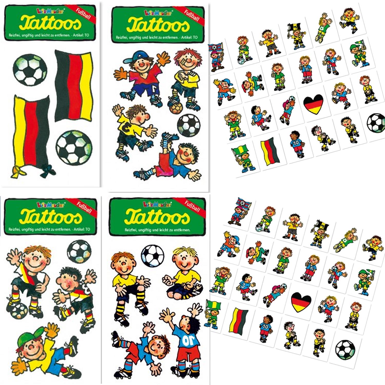 Fußball-Tattoos