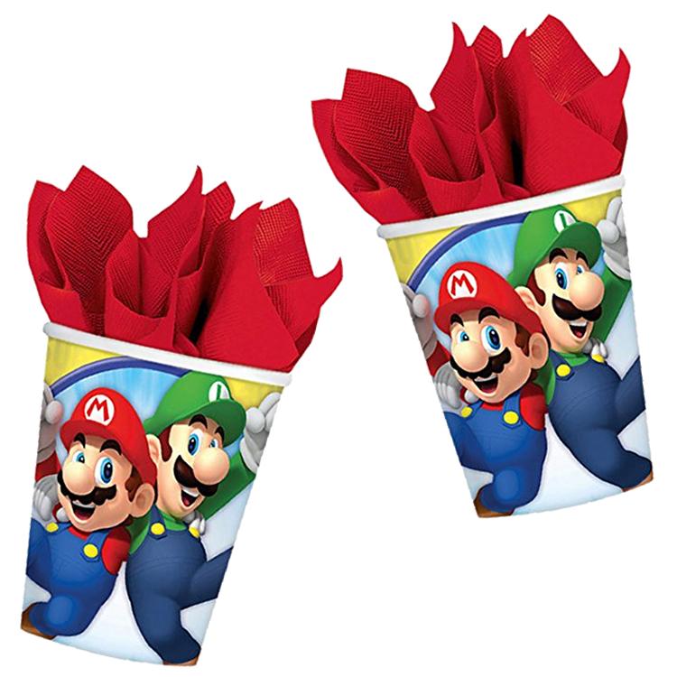 8 Becher Super Mario Bros.