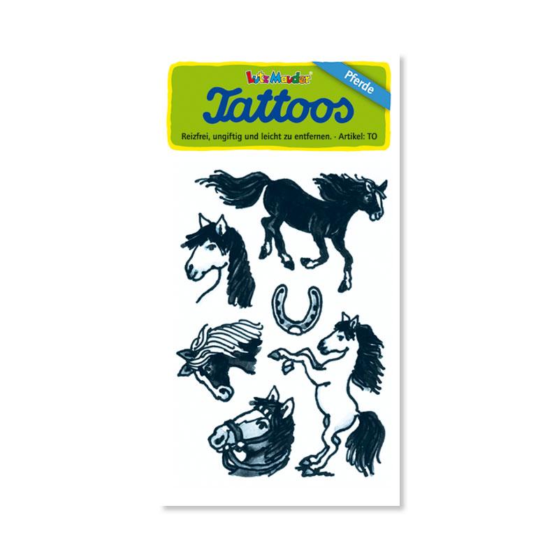 Pferde VII Tattoos