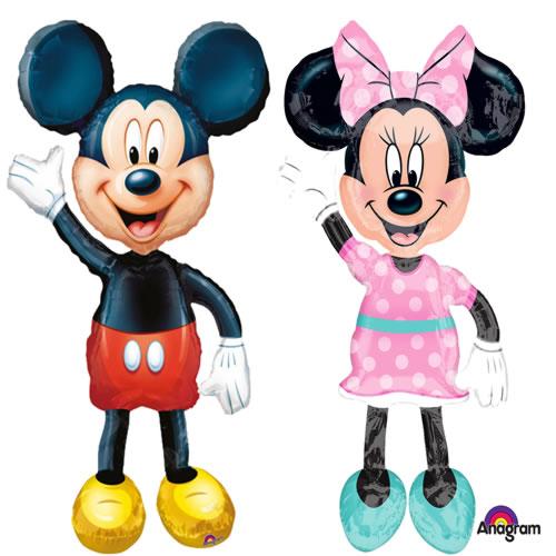 Folienballons Mickey & Minnie