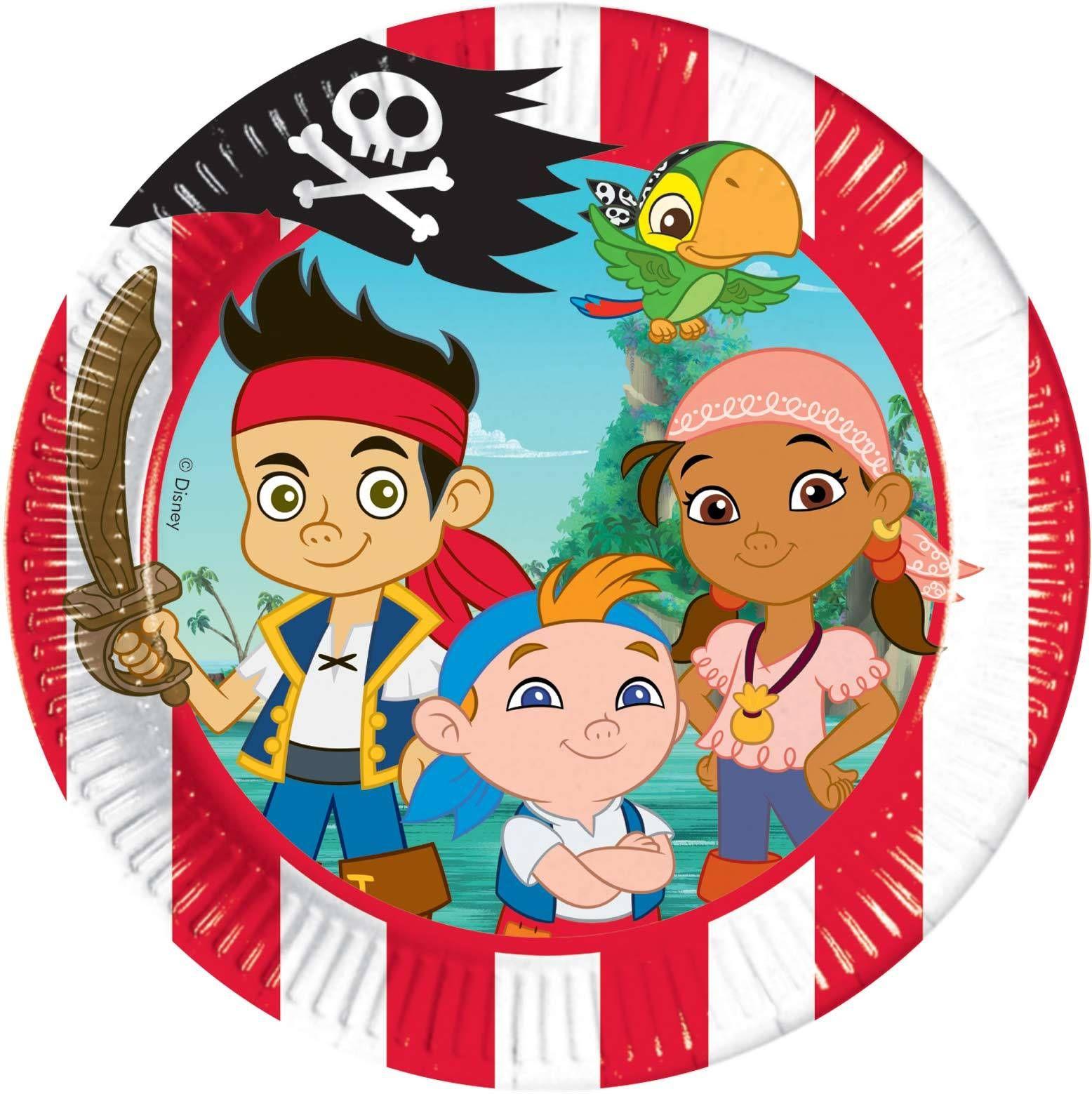 8 teller jake und die nimmerland piraten
