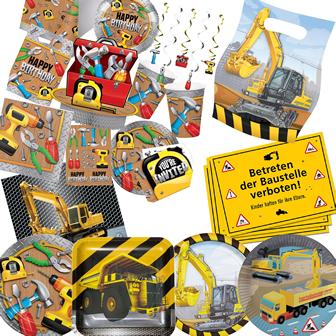Baustelle & Bauarbeiter
