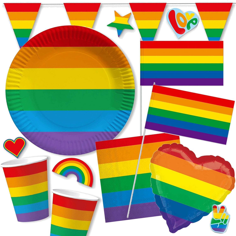 Regenbogen: Alles für eine bunte Party!