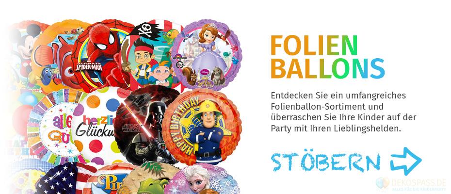 Folienballons für Kinder