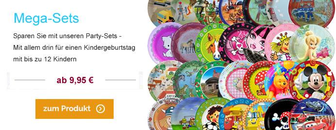 Mega-Sets für den Kindergeburtstag