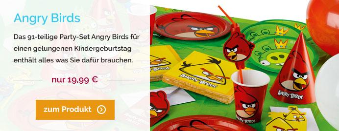 Angry Birds Kindergeburtstag