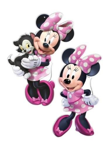 Pappfiguren Minnie Mouse, 2 Stück, von Verbetena