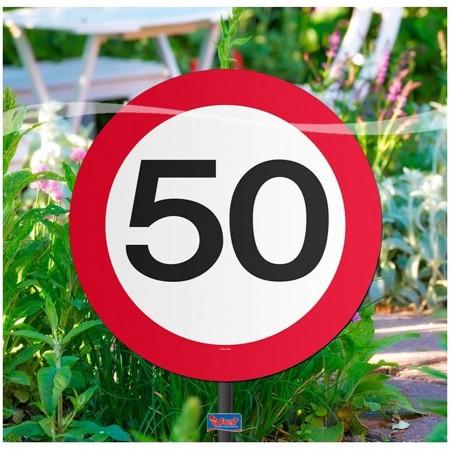Garten Dekoration Fur Den 50 Geburtstag Grosse 26cm