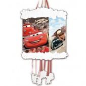 Pinata / Zugpinata Cars Red