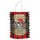 Lampion / Laterne Piraten - Red Pirate