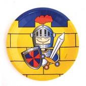 8 Teller Ritter Kunibert