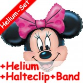 Folienballon Minnie Mouse - Mit Helium