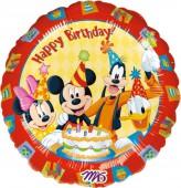 Folienballon Micky und Freunde