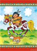 8 Partytüten Indianer Yanuk