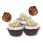 40 Muffinförmchen Halloween