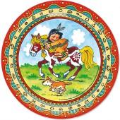 8 Teller Indianer Yanuk