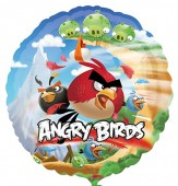 Folienballon Angry Birds - Ohne Helium