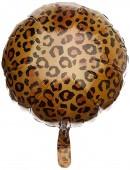 Folienballon Leopard - Ohne Helium-Füllung