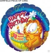 Folienballon Garfield - Happy Birthday