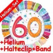 Folienballon 60. Geburtstag - Mit Helium