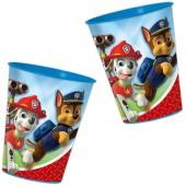 4 Kunststoff-Becher Paw Patrol