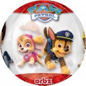 Durchsichtiger Folienballon Paw Patrol