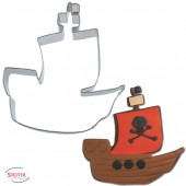Ausstechform Piratenschiff