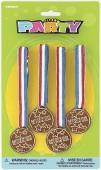 4 Siegermedaillen