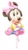 Folienballon Baby Minnie Maus