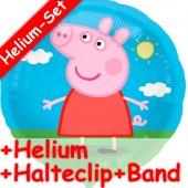 Folienballon Peppa Pig - Mit Helium