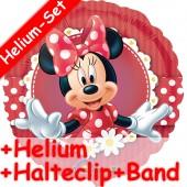 Folienballon Minnie und Daisy - Mit Helium