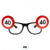 Brille 40. Geburtstag