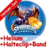 Folienballon Skylanders Giants Blue - Mit Helium