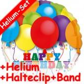 Folienballon Happy Birthday - Mit Helium