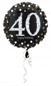 Folienballon Happy Birthday - 40. Geburtstag