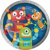 8 Party-Teller Lustige Roboter