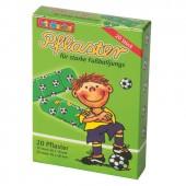 20 Kinder-Pflaster Fußball