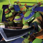 20 Servietten Teenage Mutant Ninja Turtles