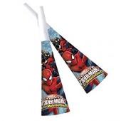 6 Partytröten Ultimate Spiderman