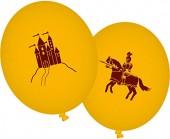 8 Luftballons Ritter & Drache