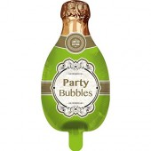 Folienballon Champagner - Ohne Helium