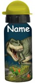 Trinkflasche T-Rex - Mit Wunschname