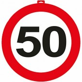 XXL-Dekoration 50. Geburtstag