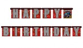 Happy Birthday Banner Monstertruck