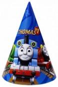 6 Partyhütchen Thomas die Lokomotive