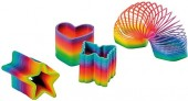 4 Regenbogen-Spiralen